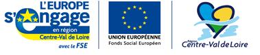 logos FSE bandeau CVL