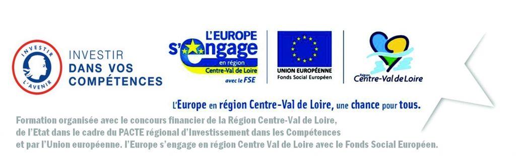 Formation financée par la Région et l'Europe