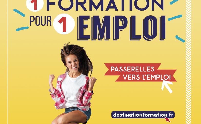 INFREP - Promotion passerelles vers l'emploi de la région Nouvelle-Aquitaine