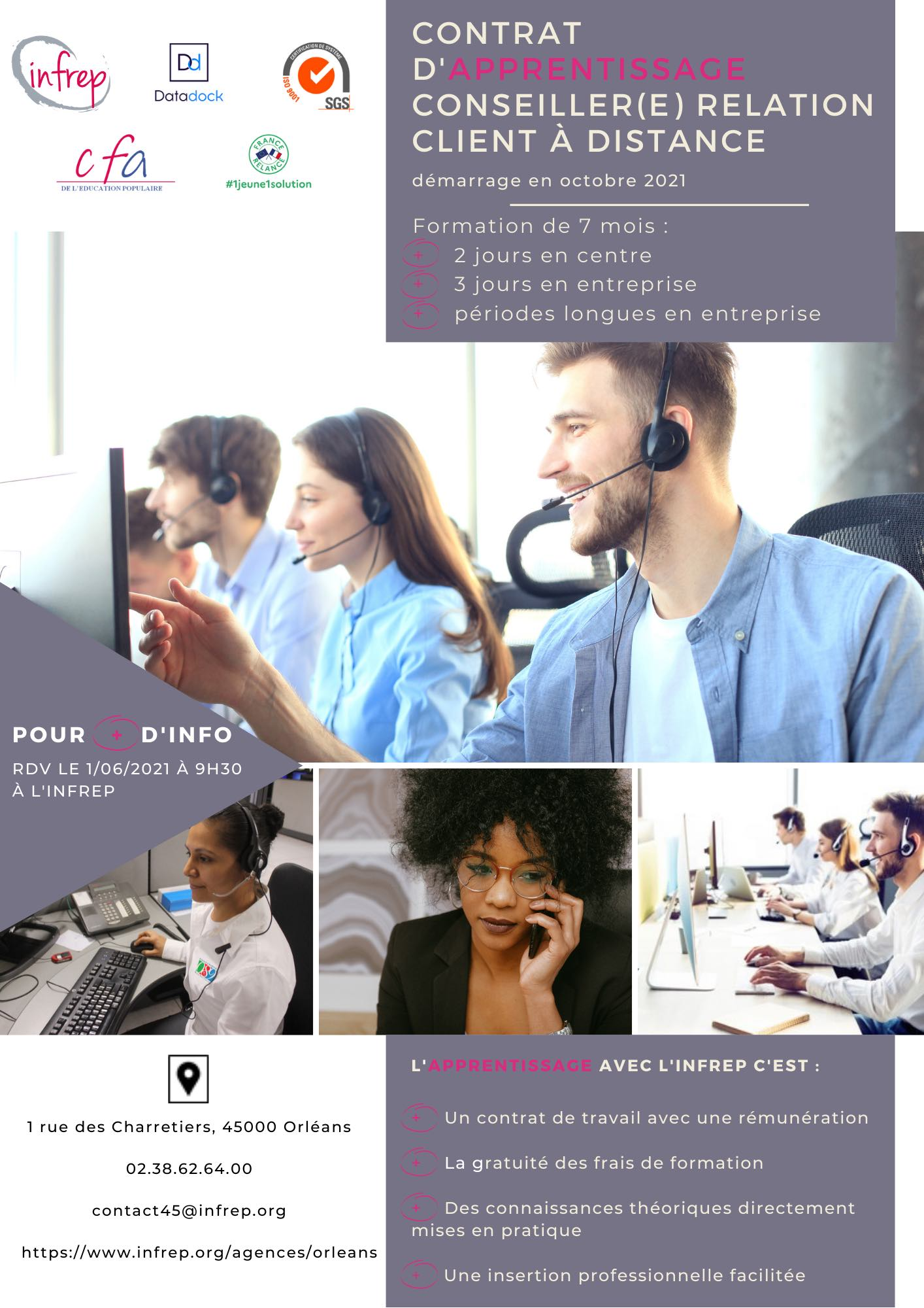 Flyer stagiaire formation